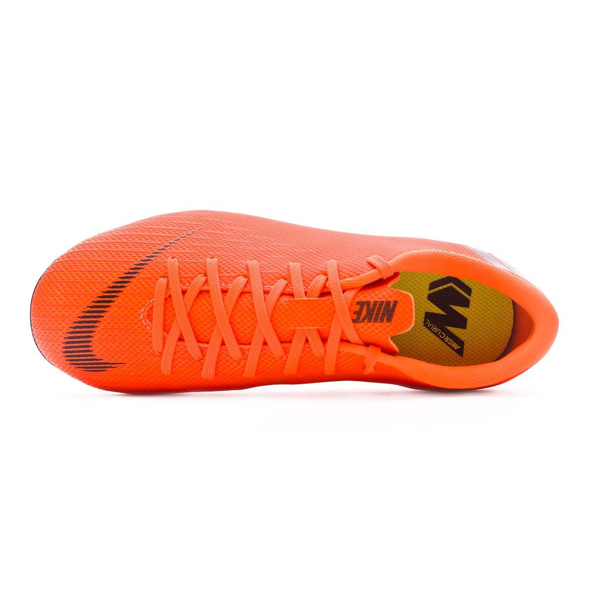 7b96aa5b7 Football Boots Nike Kids Mercurial Vapor XII Academy GS MG Total  orange-Black-Volt - Tienda de fútbol Fútbol Emotion