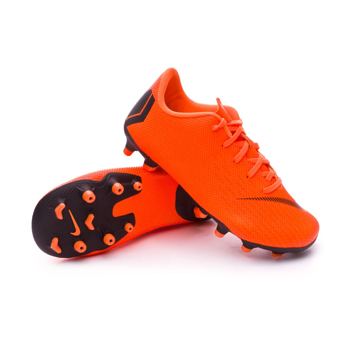 Boot Nike Kids Mercurial Vapor XII Academy PS MG Total orange-Black ... 92f354c8cb8