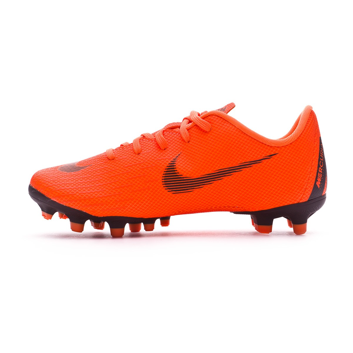 b904698ba4f59 Football Boots Nike Kids Mercurial Vapor XII Academy PS MG Total  orange-Black-Volt - Tienda de fútbol Fútbol Emotion