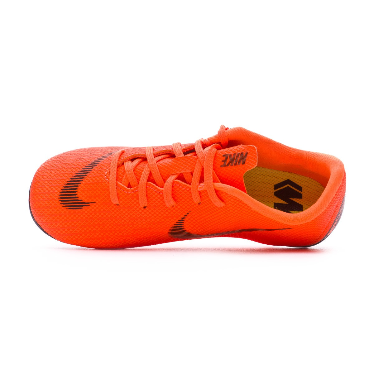 2962ea85317b Football Boots Nike Kids Mercurial Vapor XII Academy PS MG Total  orange-Black-Volt - Tienda de fútbol Fútbol Emotion