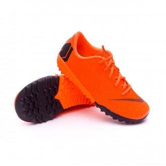 Sapatilhas  Nike Mercurial VaporX XII Academy PS Turf Criança Total orange-Black-Volt