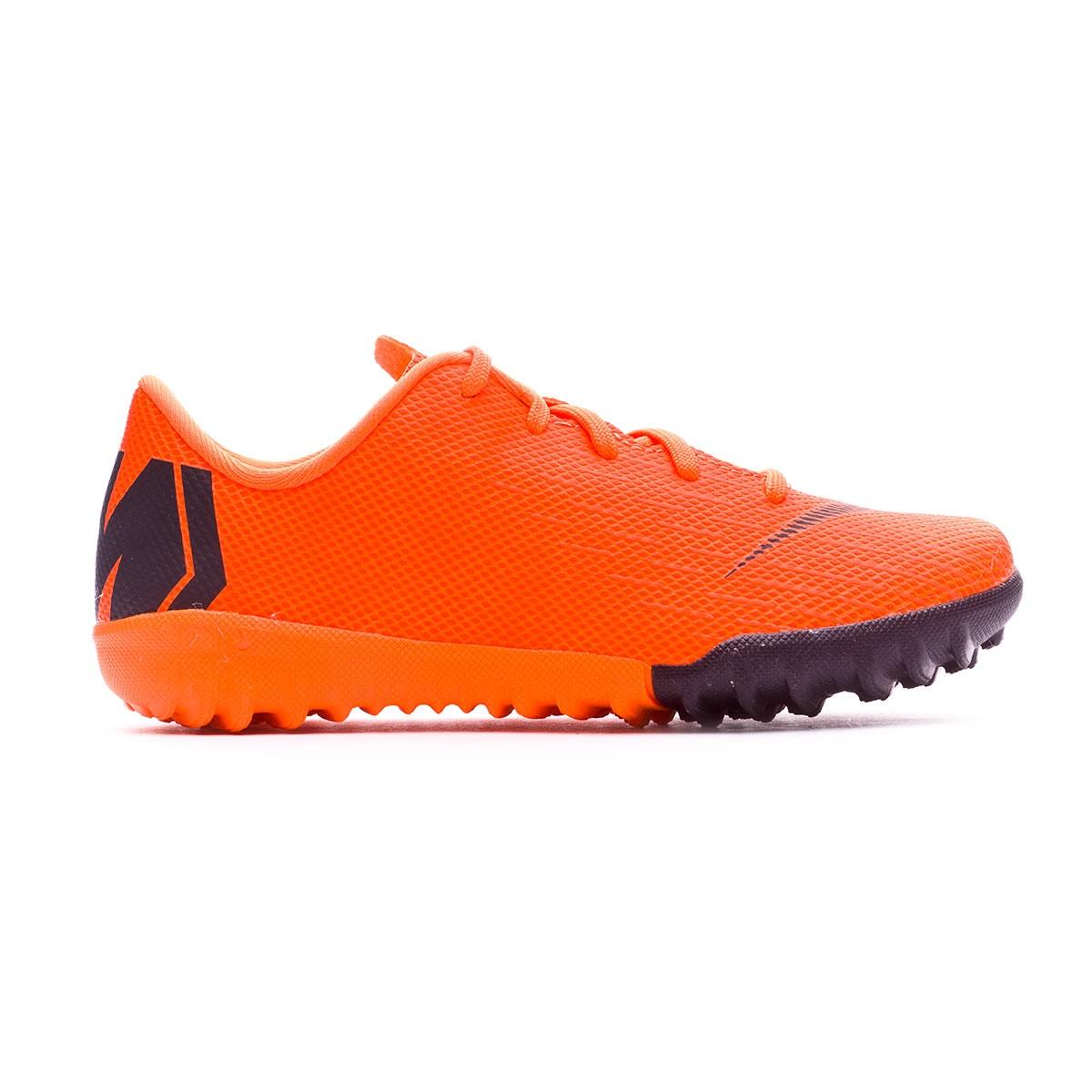 ba1b7480882b Football Boot Nike Kids Mercurial VaporX XII Academy PS Turf Total orange- Black-Volt - Soloporteros es ahora Fútbol Emotion