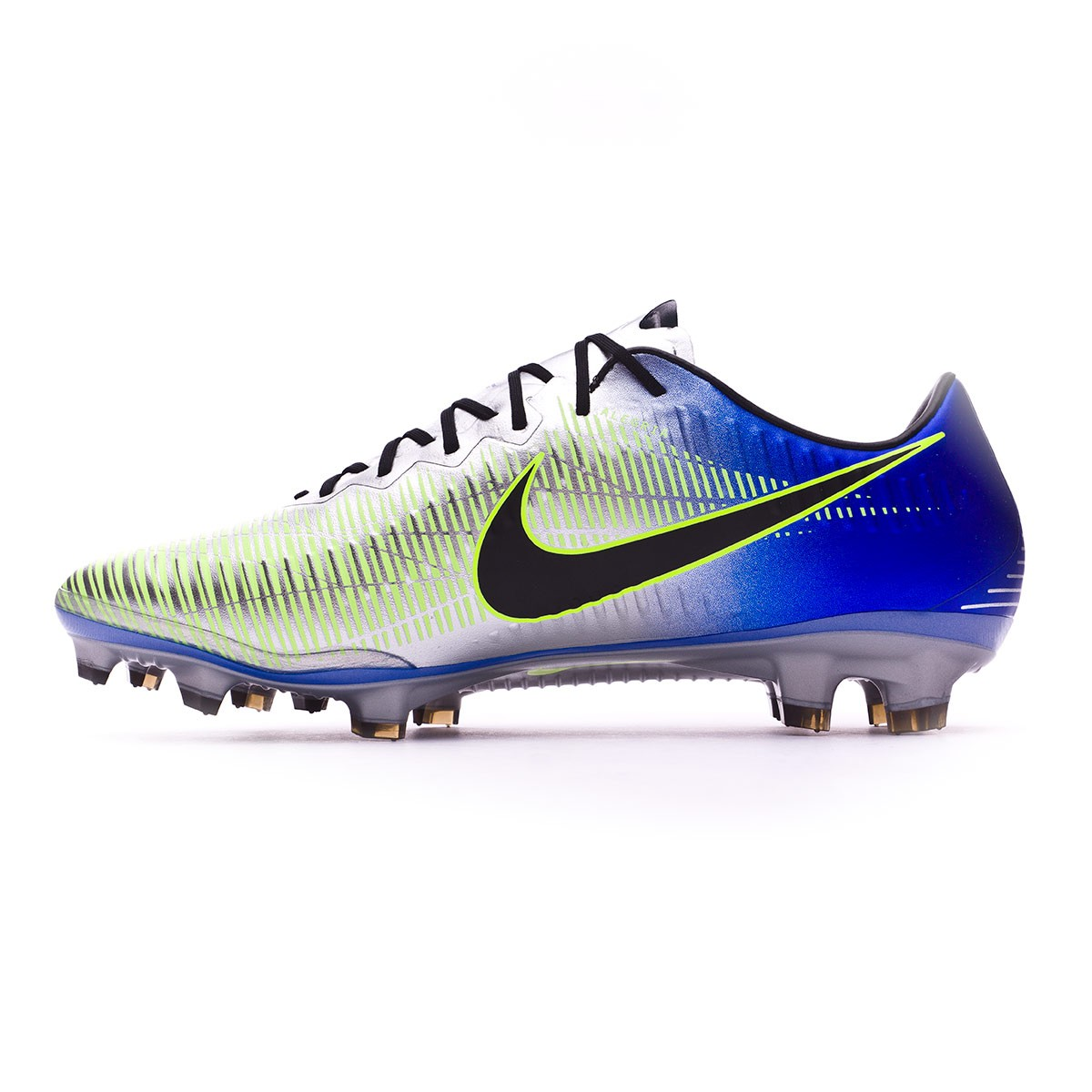 innovative design 8c73d 2cb3c Bota Mercurial Vapor XI FG Neymar Racer blue-Black-Chrome-Volt