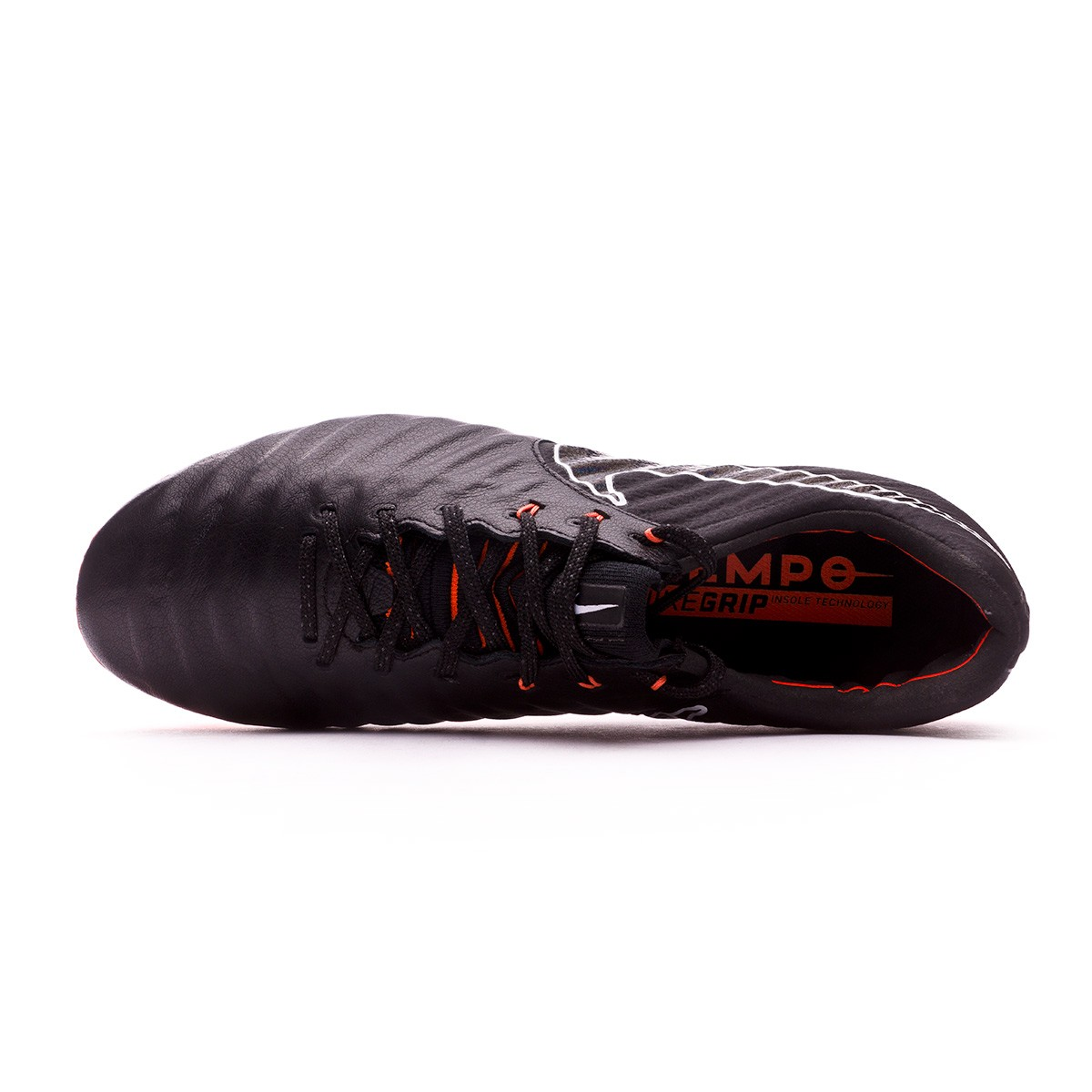 ... Bota Tiempo Legend VII Elite FG Black-Total orange-White. CATEGORY 043a8ab4defd