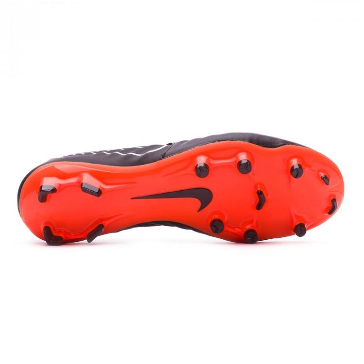 565c36c90008 Football Boots Nike Tiempo Legend VII Academy FG Black-Total orange ...