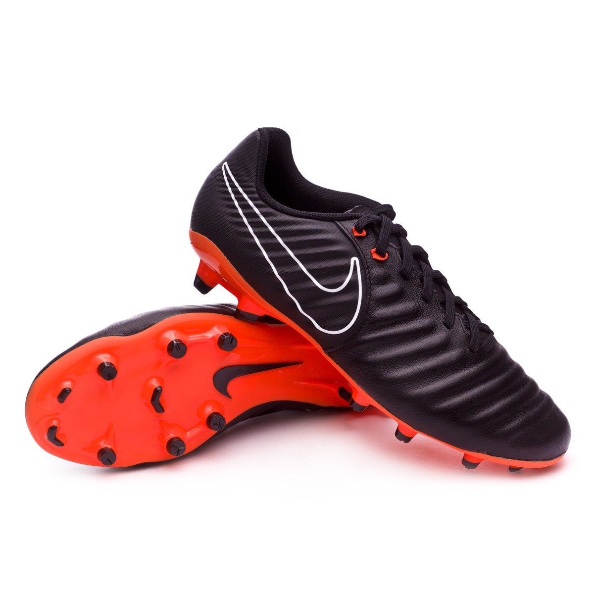 4faf524d7d Football Boots Nike Tiempo Legend VII Academy FG Black-Total orange-White -  Tienda de fútbol Fútbol Emotion