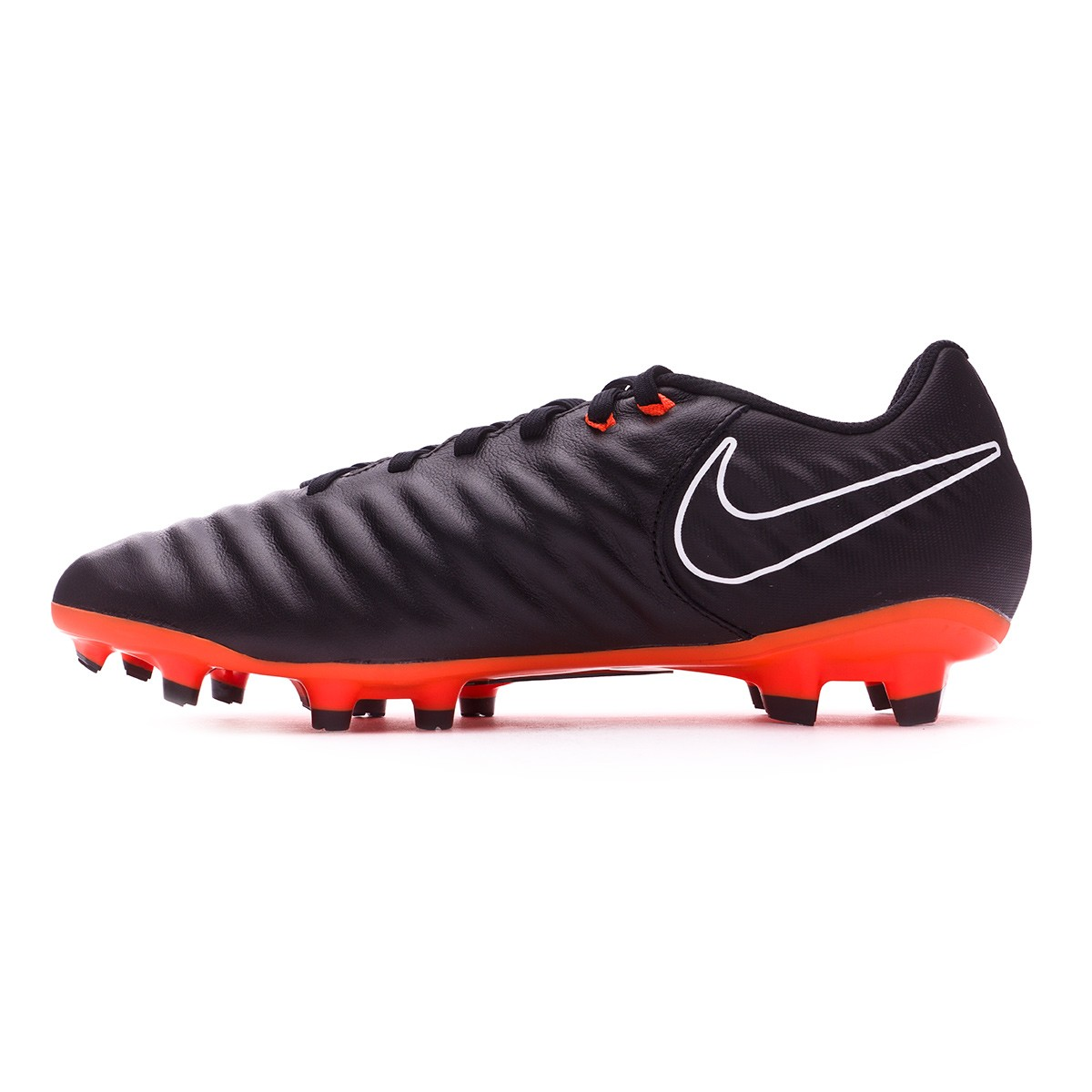 1093ca5cf84ef Football Boots Nike Tiempo Legend VII Academy FG Black-Total orange-White -  Tienda de fútbol Fútbol Emotion