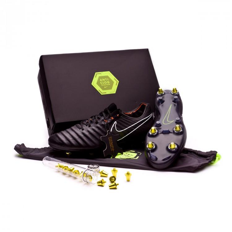 ad3a5c28b0500 Football Boots Nike Tiempo Legend VII Elite SG-Pro Black-Total ...