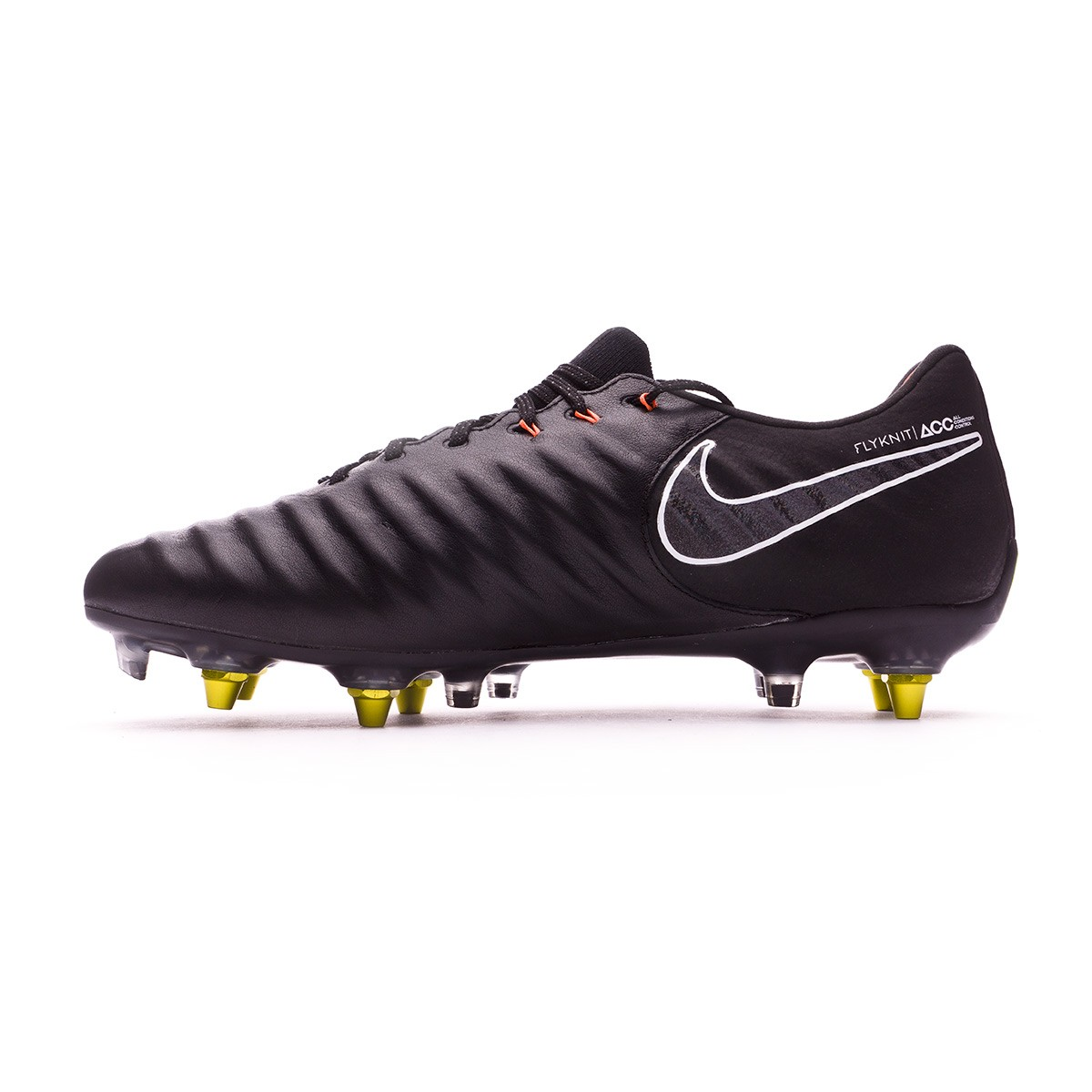 f2d38916f Football Boots Nike Tiempo Legend VII Elite SG-Pro Black-Total orange-White  - Football store Fútbol Emotion