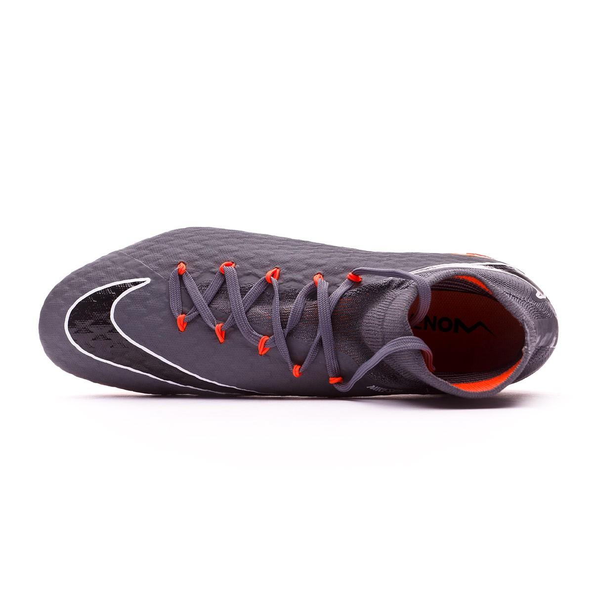 c564a44f329 Bota de fútbol Nike Hypervenom Phantom III Pro DF FG Dark grey-Total  orange-White - Tienda de fútbol Fútbol Emotion