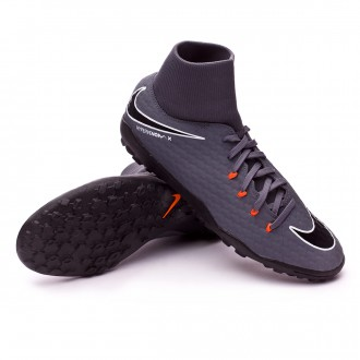 Tenis  Nike Hypervenom PhantomX III Academy DF Turf Dark grey-Total orange-White