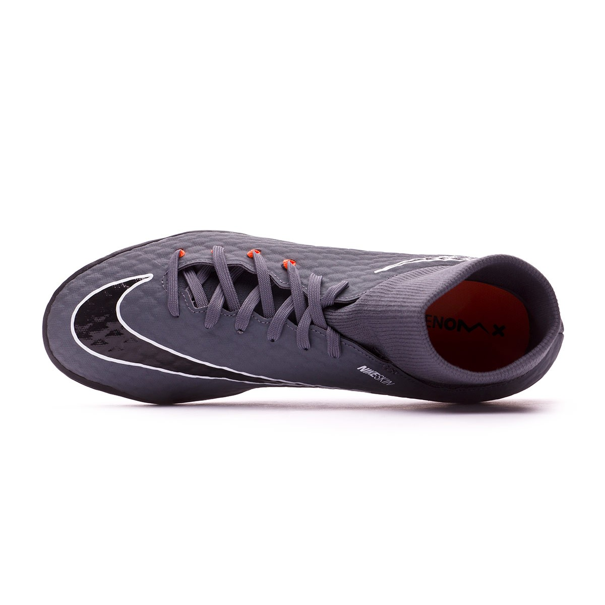 buy popular 33475 aa763 Zapatilla Hypervenom PhantomX III Academy DF Turf Dark grey-Total  orange-White