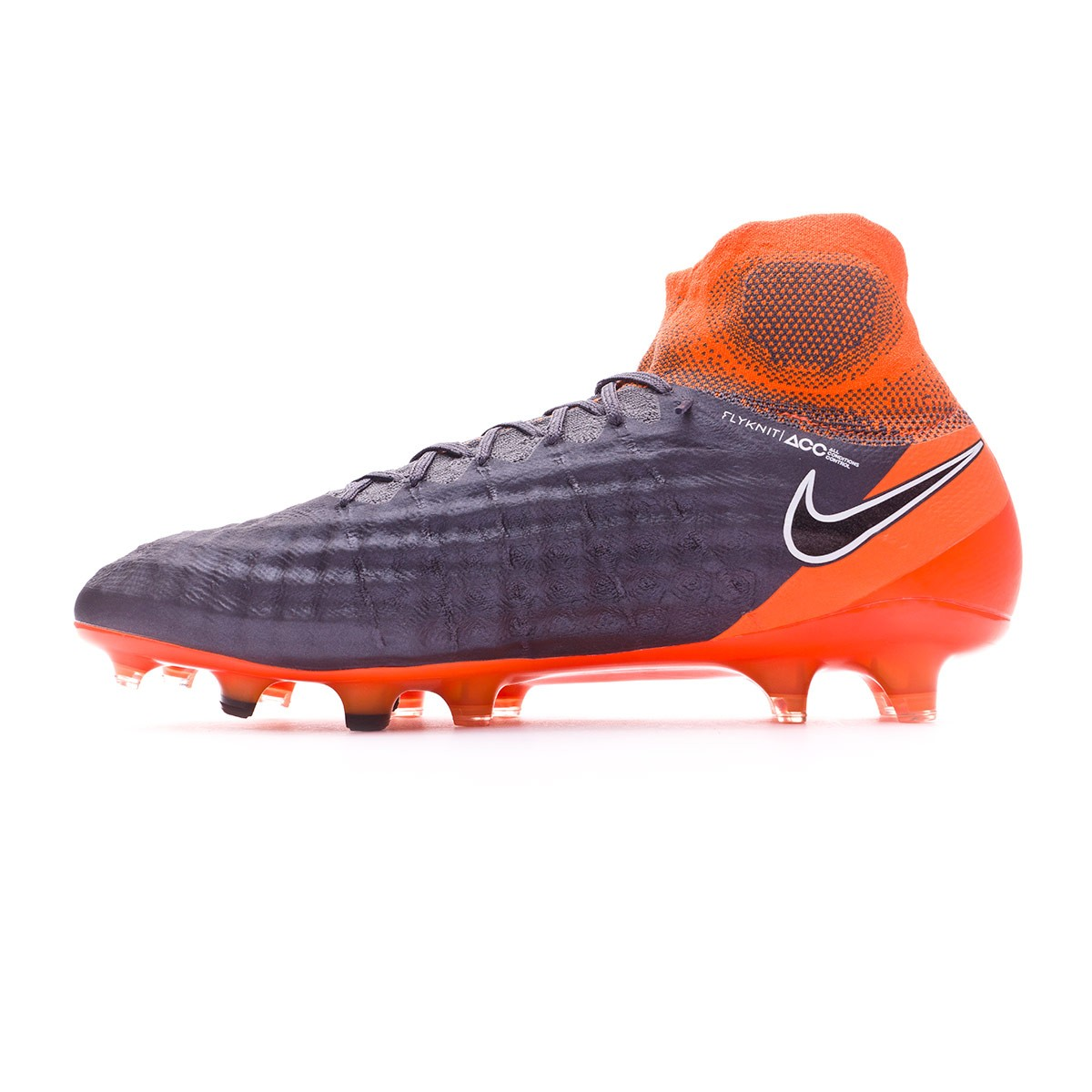 Bota Magista Obra II Elite DF FG Dark grey-Black-Total orange-White