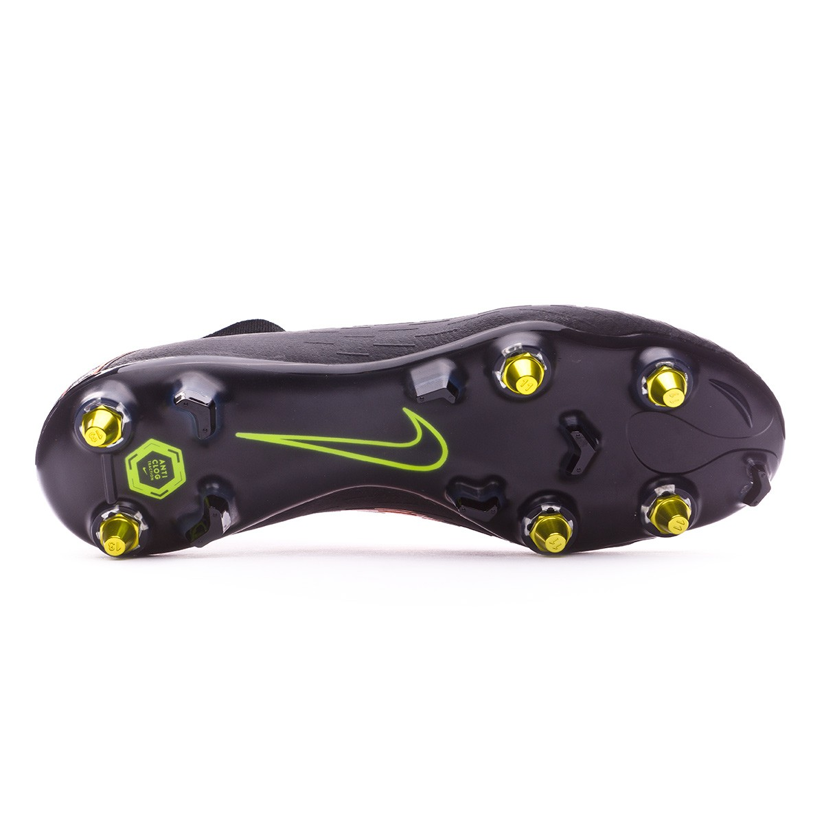 ccaaf71d47148 Chuteira Nike Mercurial Superfly VI Elite SG-Pro Anti-Clog Black-Total  orange-White - Loja de futebol Fútbol Emotion