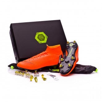 Chuteira  Nike Mercurial Superfly VI Elite SG-Pro Anti-Clog Total orange-Black-Volt