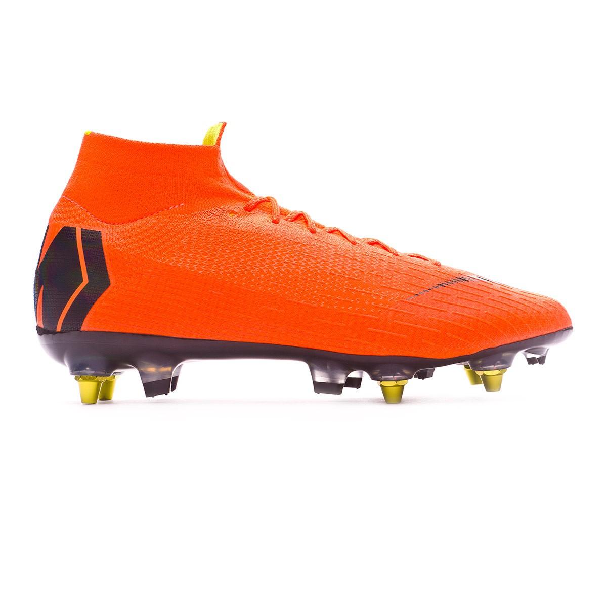 online store a24a8 237b2 Football Boots Nike Mercurial Superfly VI Elite SG-Pro Anti-Clog Total  orange-Black-Volt - Football store Fútbol Emotion