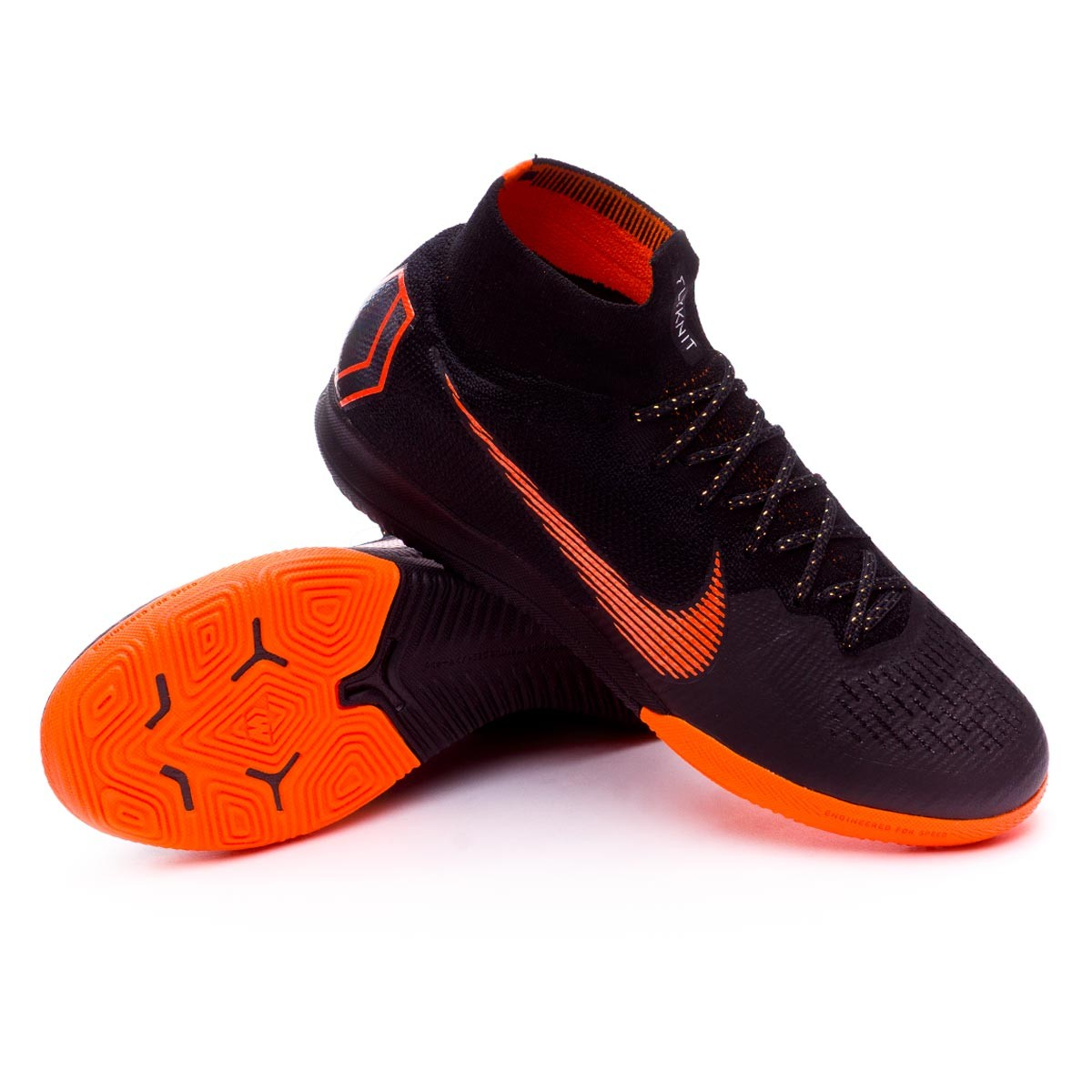 ... Zapatilla Mercurial SuperflyX VI Elite IC Black-Total orange-White.  CATEGORY. Futsal 335218f903923