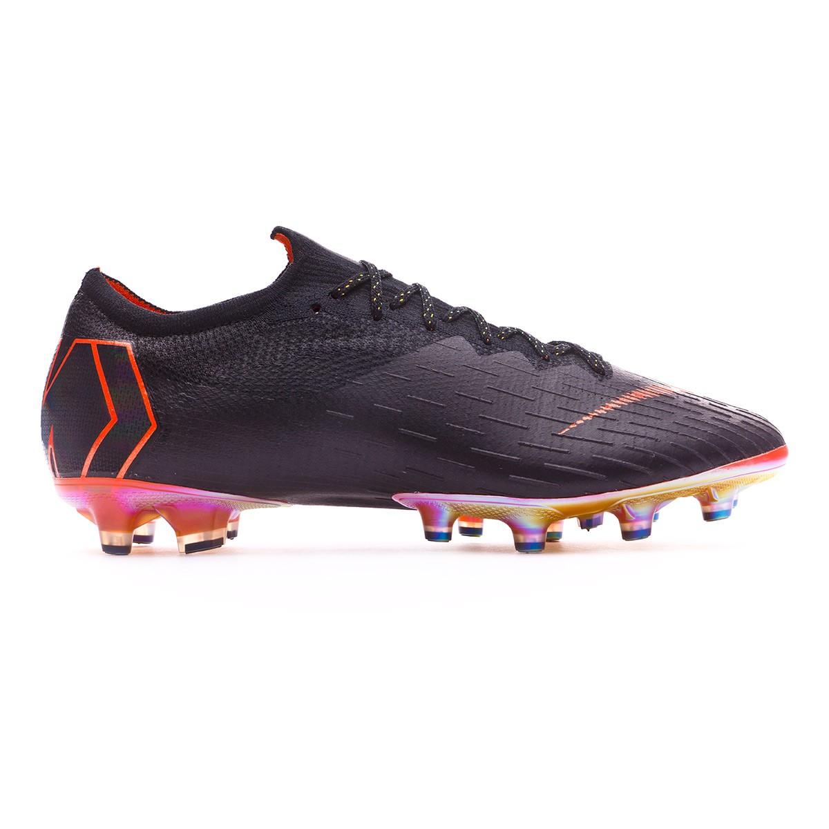 b293a318dce Football Boots Nike Mercurial Vapor XII Elite AG-Pro Black-Total  orange-White - Football store Fútbol Emotion