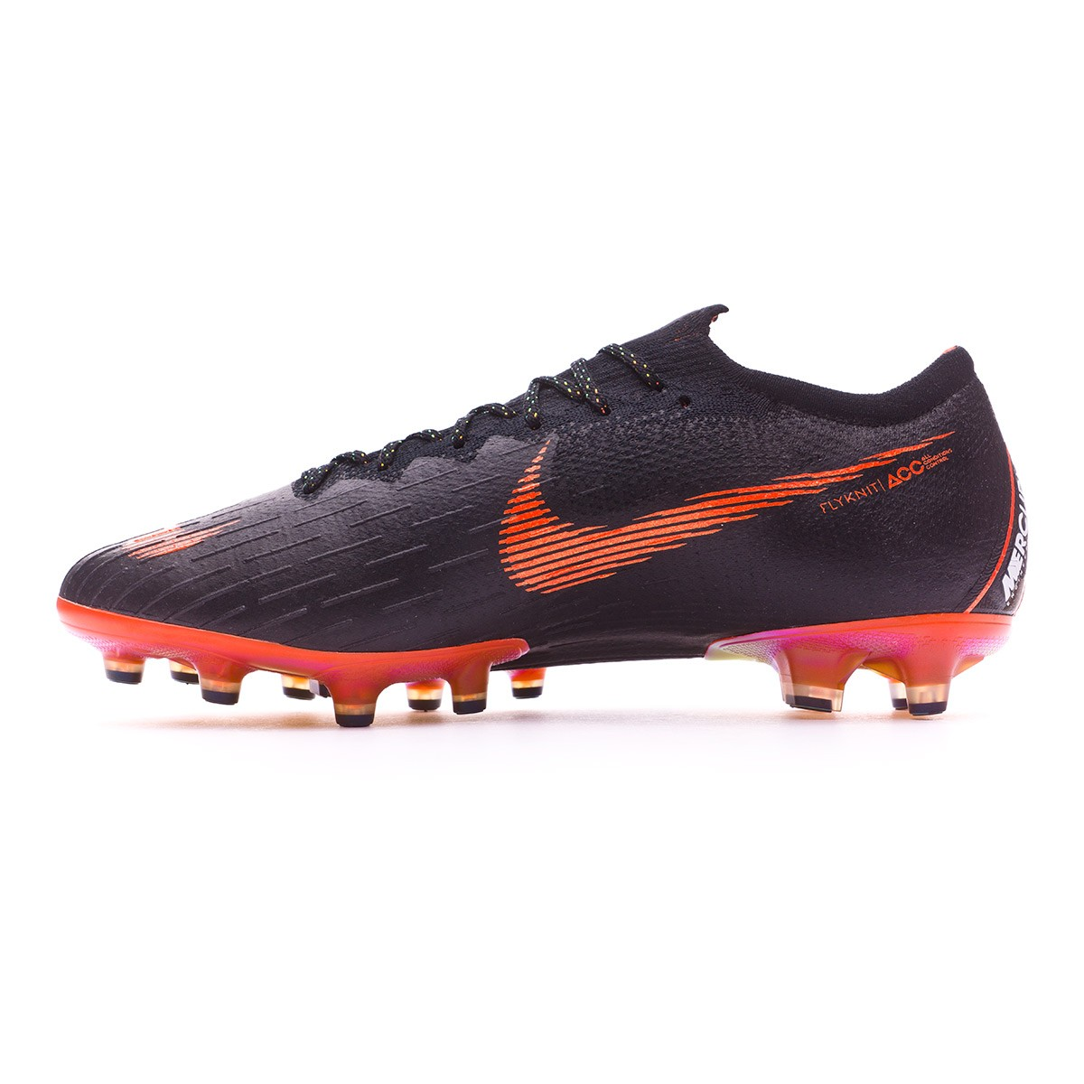 save off c91bc 98478 Football Boots Nike Mercurial Vapor XII Elite AG-Pro Black-Total orange- White - Football store Fútbol Emotion