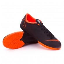 Sapatilha de Futsal Mercurial VaporX XII Academy IC Black-Total orange-White 31e38919f2f4c