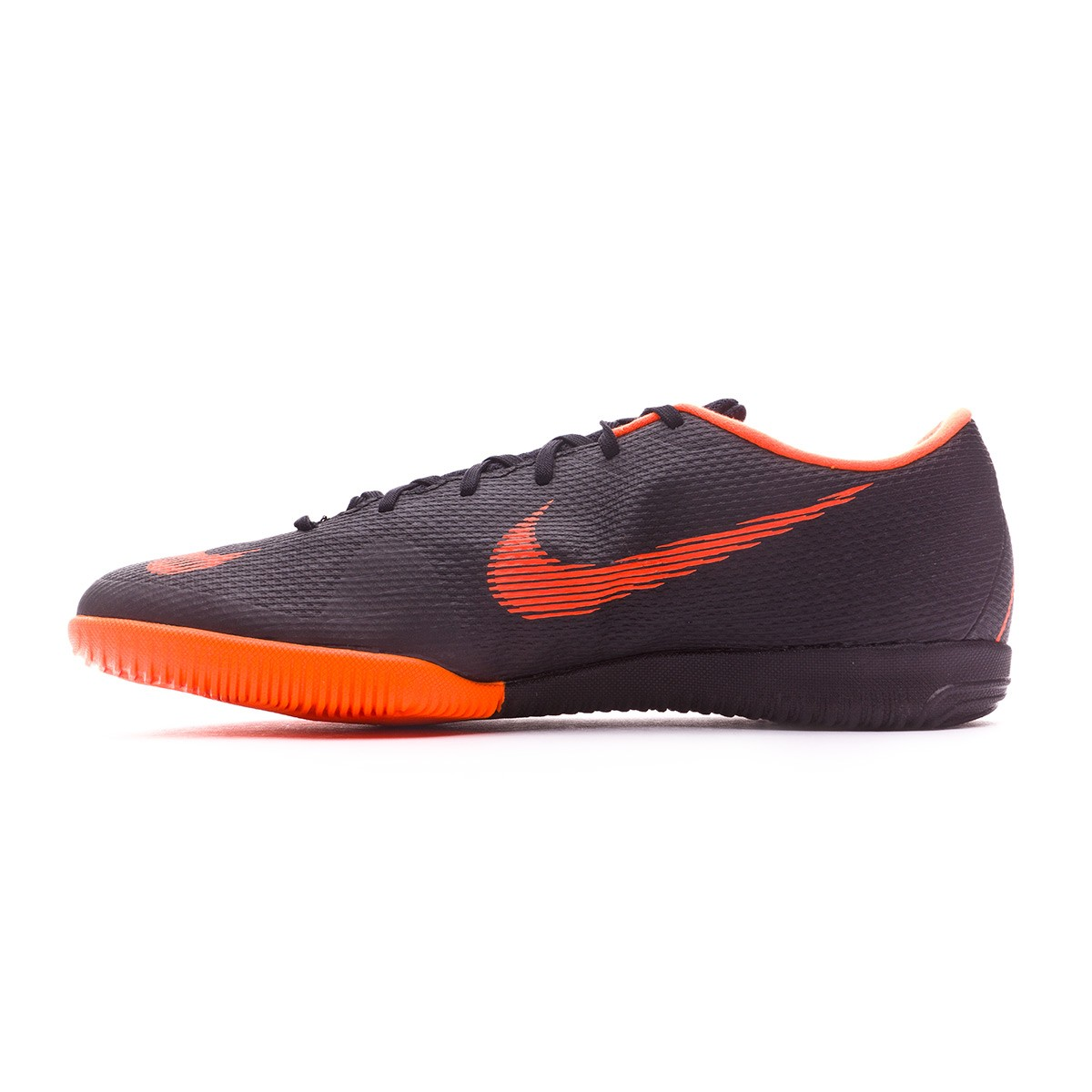 c0fc9b3277107 Futsal Boot Nike Mercurial VaporX XII Academy IC Black-Total orange-White -  Tienda de fútbol Fútbol Emotion