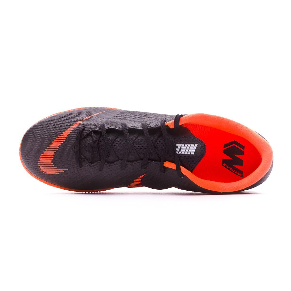 sports shoes 59740 683b9 Chaussure de futsal Nike Mercurial VaporX XII Academy IC Black-Total  orange-White - Boutique de football Fútbol Emotion