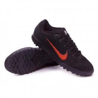 Sapatilhas  Nike Mercurial VaporX XII Pro Turf Black-Total orange-White