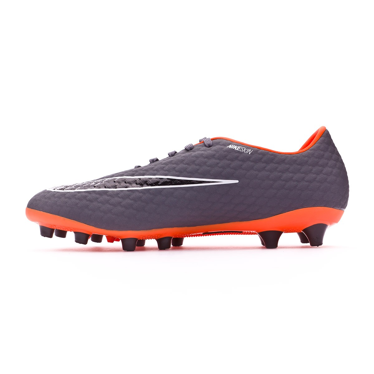 157be2b0b6ecc Chuteira Nike Hypervenom Phantom III Academy AG-Pro Dark grey-Total  orange-White - Loja de futebol Fútbol Emotion