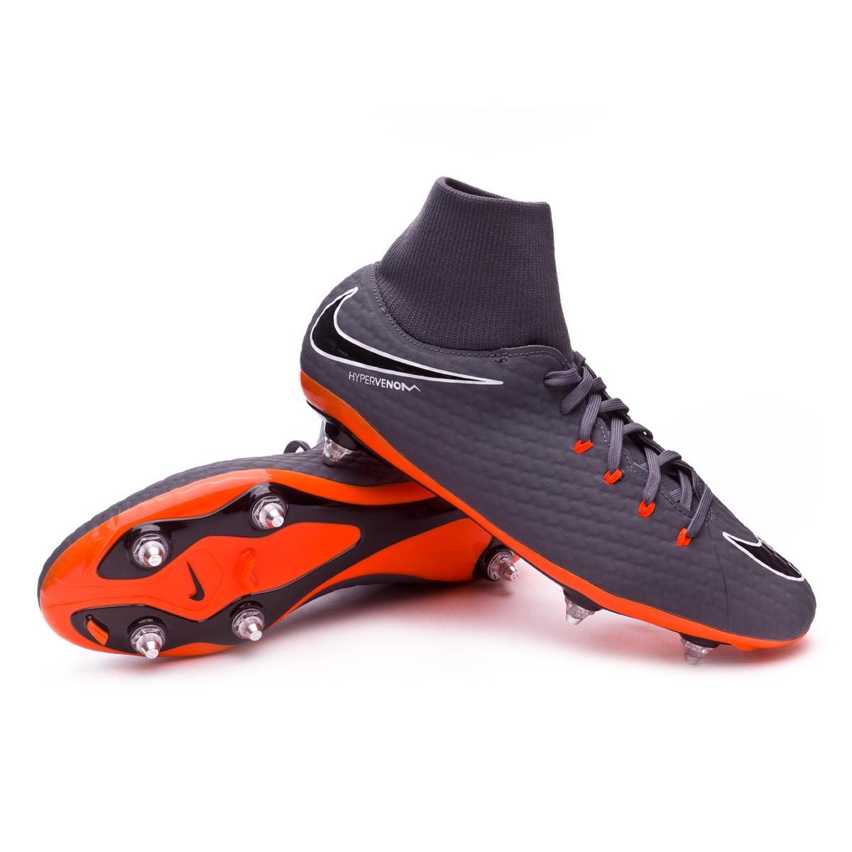 Boot Nike Hypervenom Phantom III Academy SG Dark grey-Total orange
