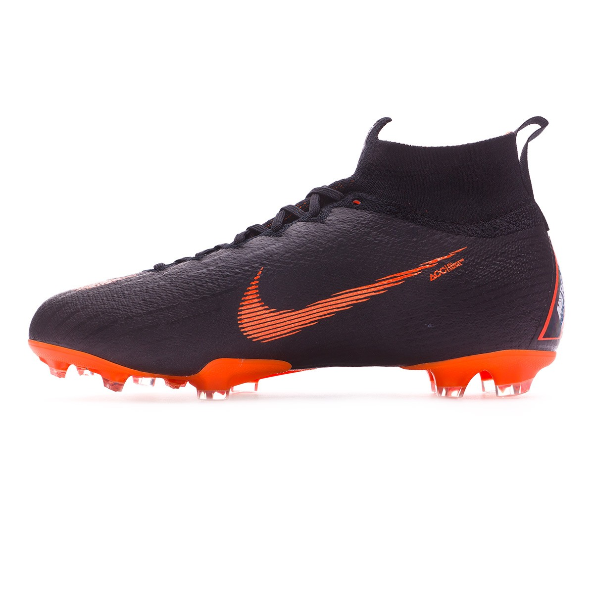 1f97a628 Football Boots Nike Kids Mercurial Superfly VI Elite FG Black-Total  orange-White - Football store Fútbol Emotion