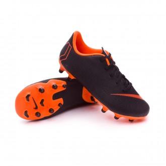 Chuteira  Nike Mercurial Vapor XII Academy PS MG Crianças Black-Total orange-White