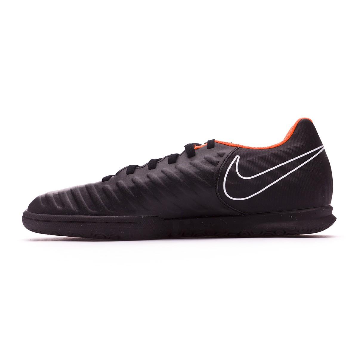 e08997fe054 Zapatilla Nike Tiempo LegendX VII Club IC Black-Total orange-White - Tienda  de fútbol Fútbol Emotion