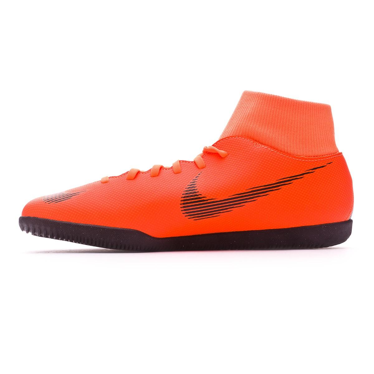c9a263f833dc6 Zapatilla Nike Mercurial SuperflyX VI Club IC Total orange-Black-Volt -  Tienda de fútbol Fútbol Emotion