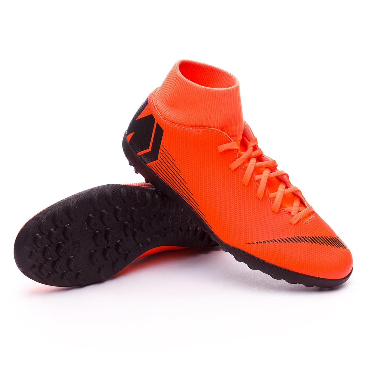info for 26e8d f1482 Zapatilla Mercurial SuperflyX VI Club Turf Total orange-Black-Volt