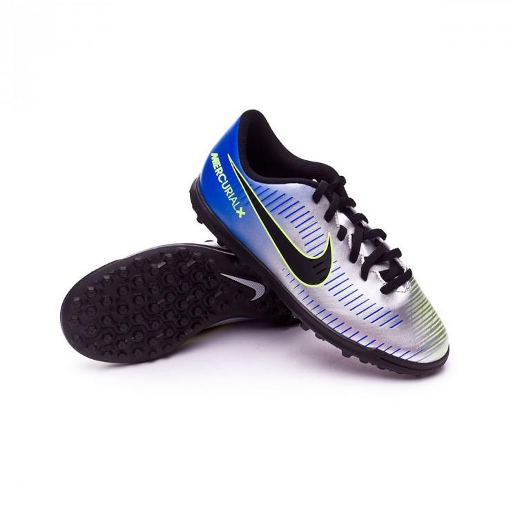Football Boot Nike Kids MercurialX Vortex III Turf Neymar Racer blue ... f0ab7f1b77141