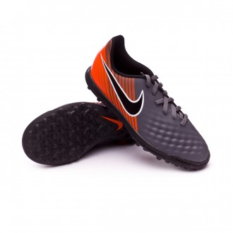 Tenis  Nike Magista ObraX II Club Turf Niño Dark grey-Black-Total orange-White