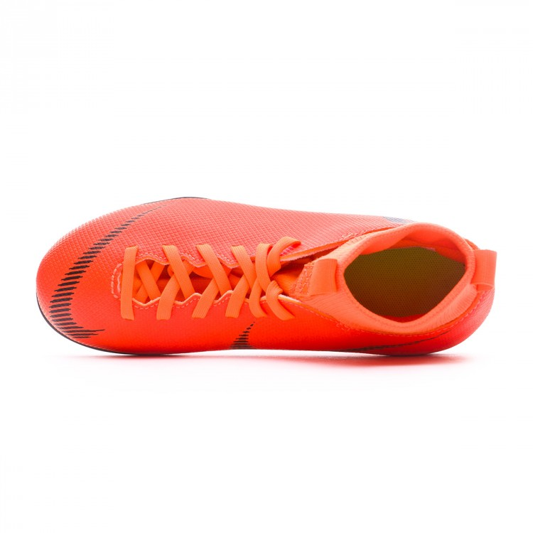 a1c9d94cfe8 Bota Mercurial Superfly VI Club MG Niño Total orange-Black-Volt