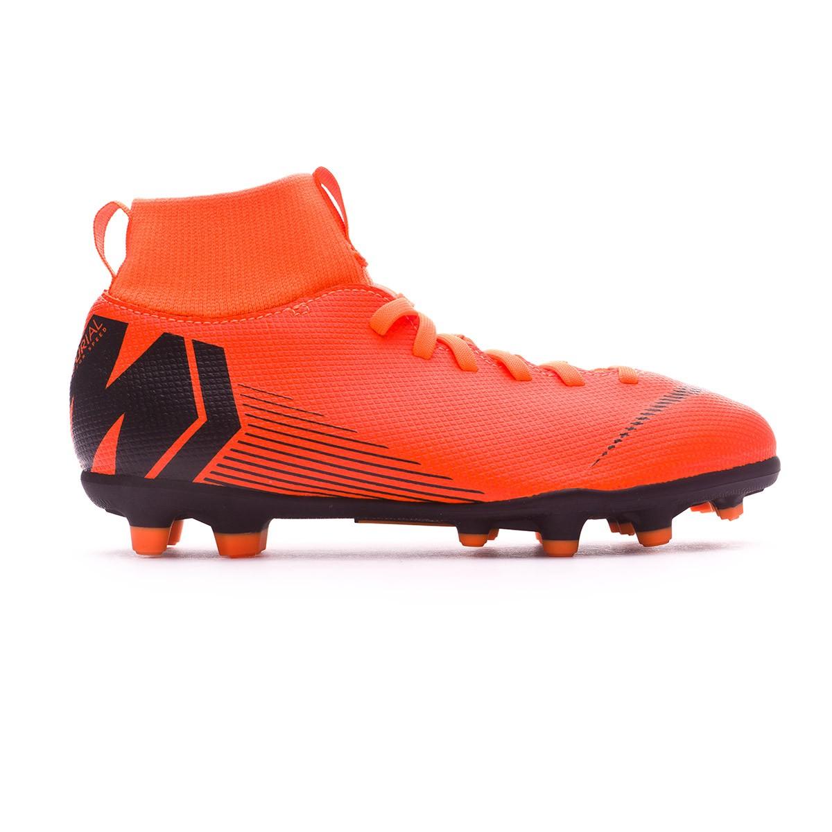 786703a9a42e0 Zapatos de fútbol Nike Mercurial Superfly VI Club MG Niño Total  orange-Black-Volt - Tienda de fútbol Fútbol Emotion
