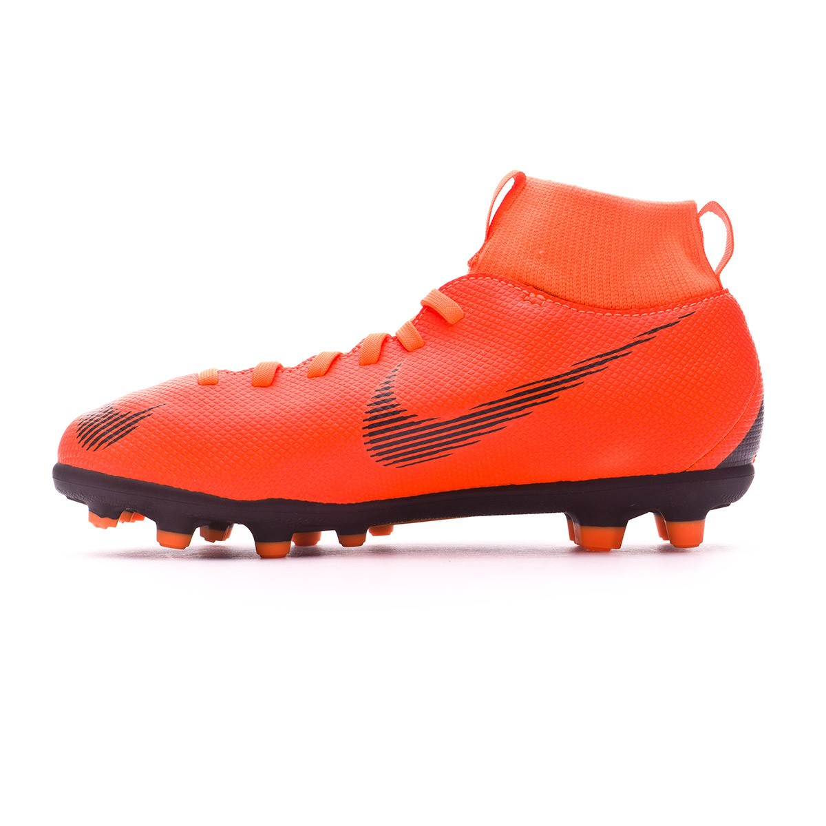 more photos 15302 8139e Boot Nike Kids Mercurial Superfly VI Club MG Total orange-Black-Volt -  Leaked soccer