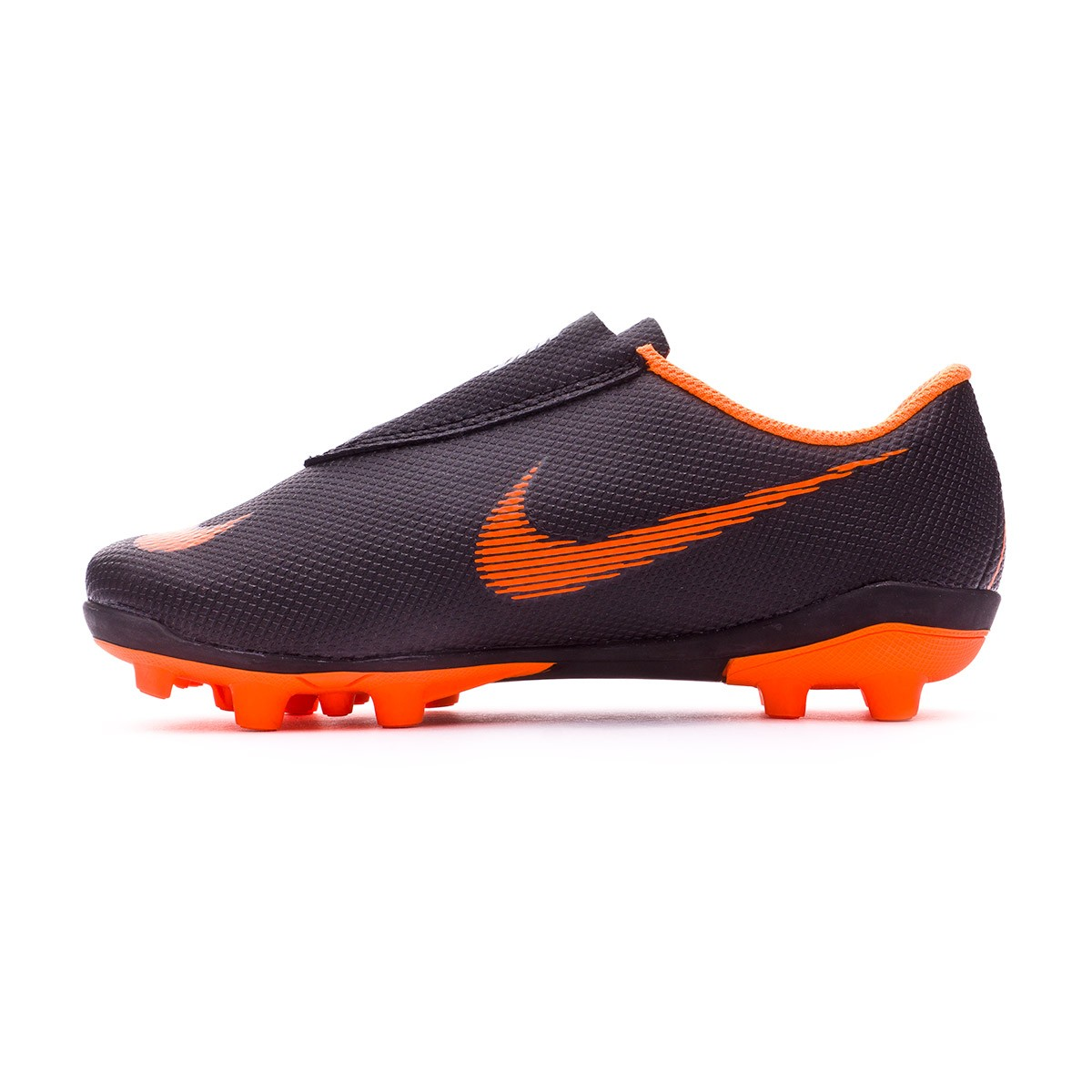 e60bda97b Football Boots Nike Kids Mercurial Vapor XII Club PS Velcro MG Black-Total  orange-White - Tienda de fútbol Fútbol Emotion