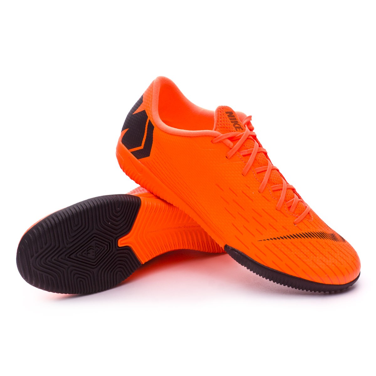 90075cf9978e4 Futsal Boot Nike Mercurial VaporX XII Academy IC Total orange-Black ...