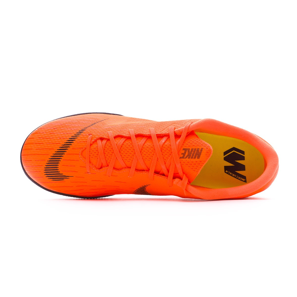 1ef5c54d4503a Futsal Boot Nike Mercurial VaporX XII Academy IC Total orange-Black-Volt -  Tienda de fútbol Fútbol Emotion