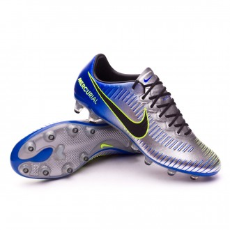Chuteira  Nike Mercurial Vapor XI AG-Pro Neymar Racer blue-Black-Chrome-Volt