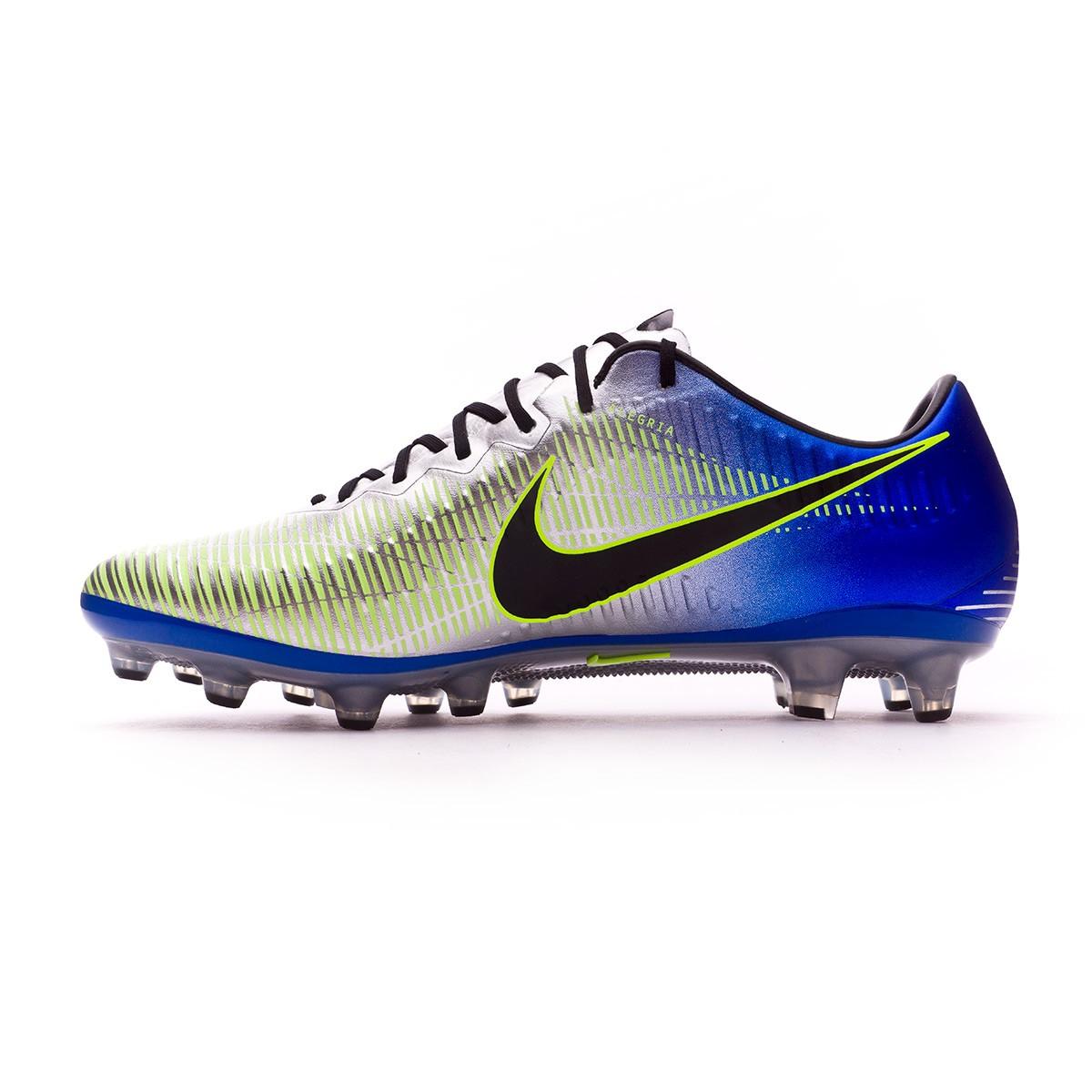 c18cf330a Football Boots Nike Mercurial Vapor XI AG-Pro Neymar Racer  blue-Black-Chrome-Volt - Football store Fútbol Emotion