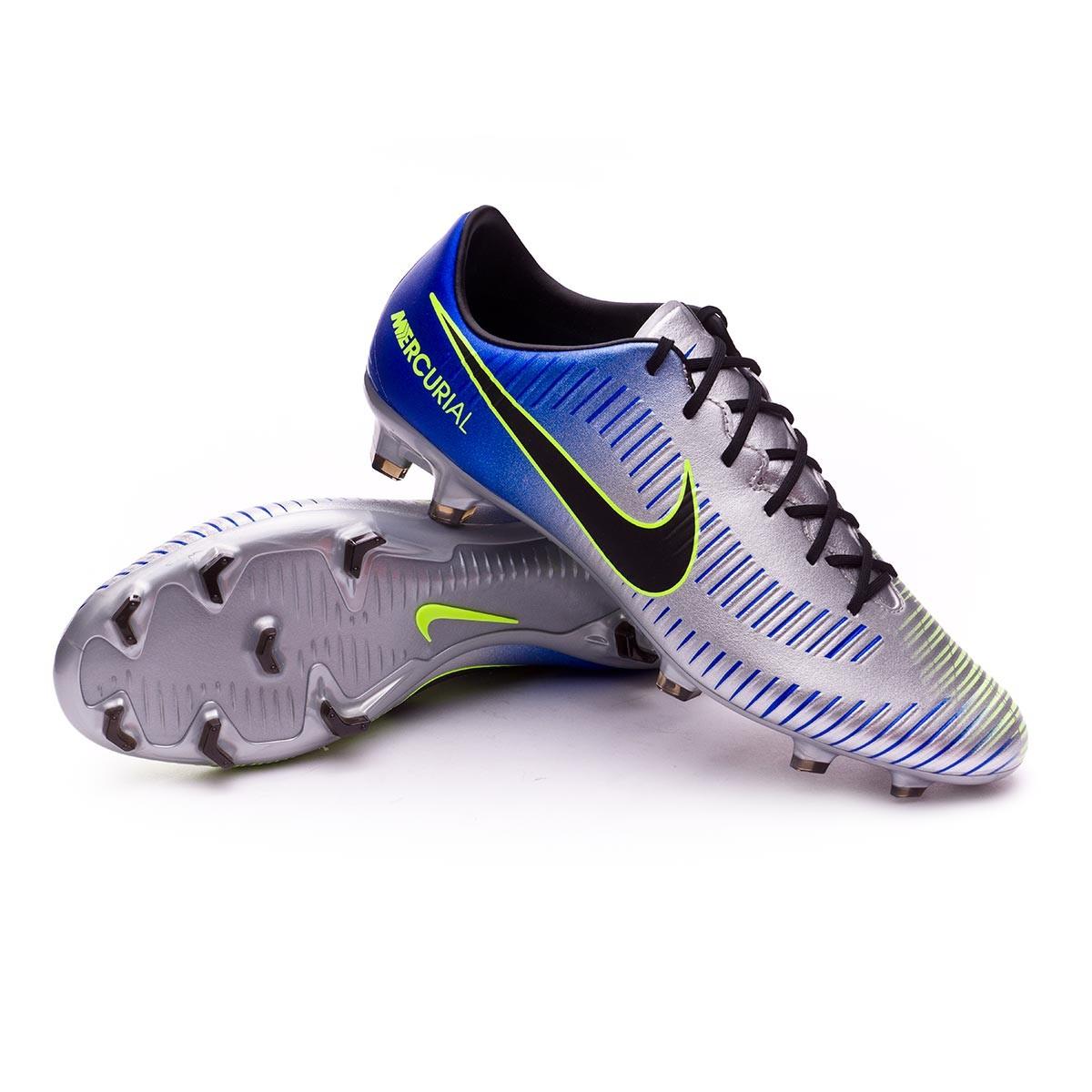 3d6e069c4b0b Football Boots Nike Mercurial Veloce III FG Neymar Racer blue-Black ...