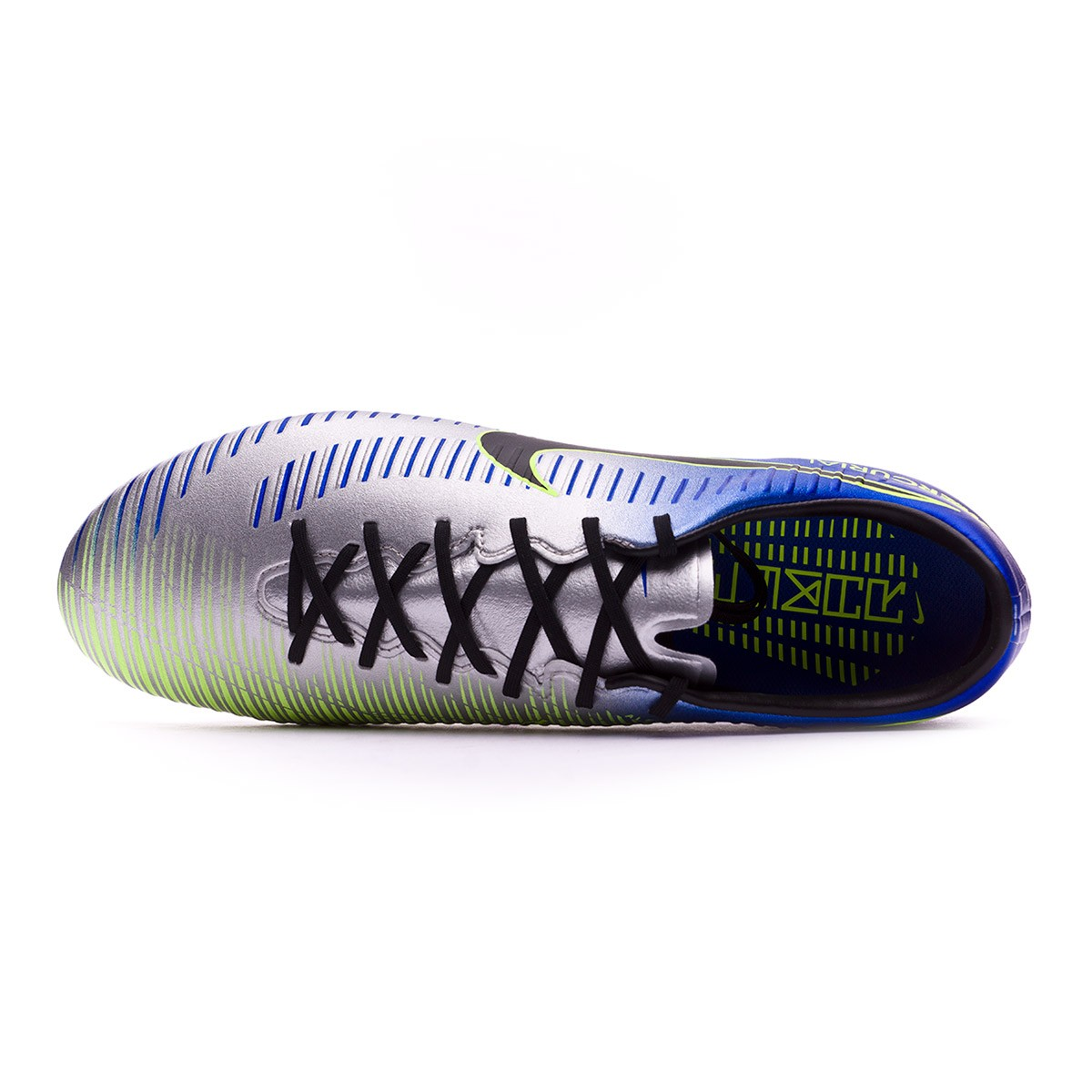 6dc47651753 Football Boots Nike Mercurial Veloce III FG Neymar Racer blue-Black-Chrome- Volt - Tienda de fútbol Fútbol Emotion