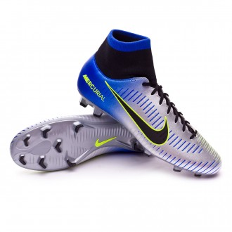 Chuteira  Nike Mercurial Victory VI DF FG Neymar Racer blue-Black-Chrome-Volt
