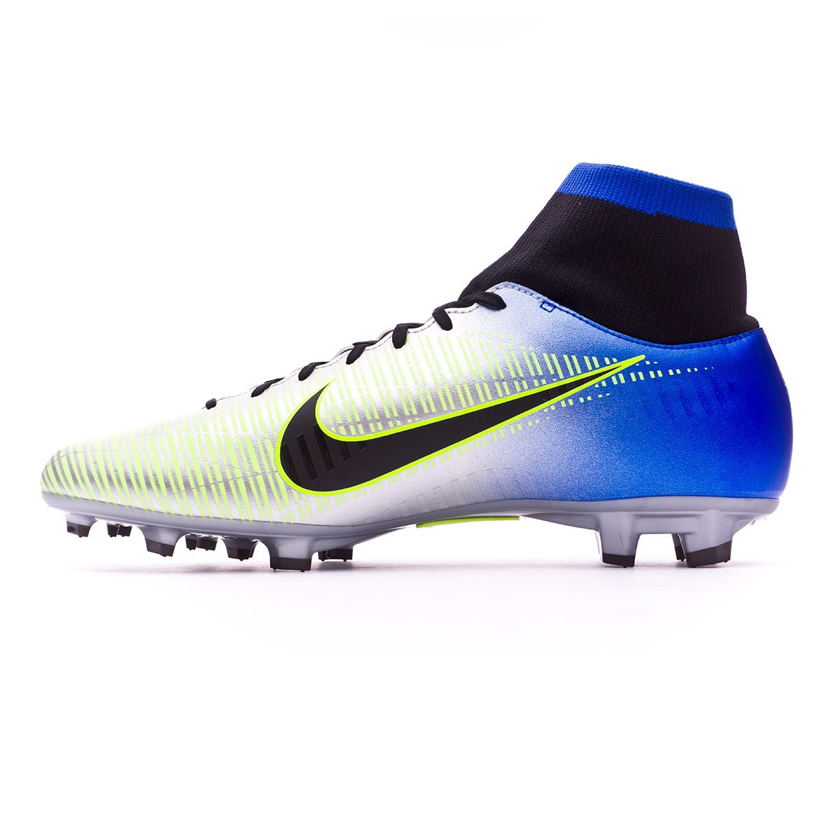 d370e4599797 Football Boots Nike Mercurial Victory VI DF FG Neymar Racer  blue-Black-Chrome-Volt - Football store Fútbol Emotion