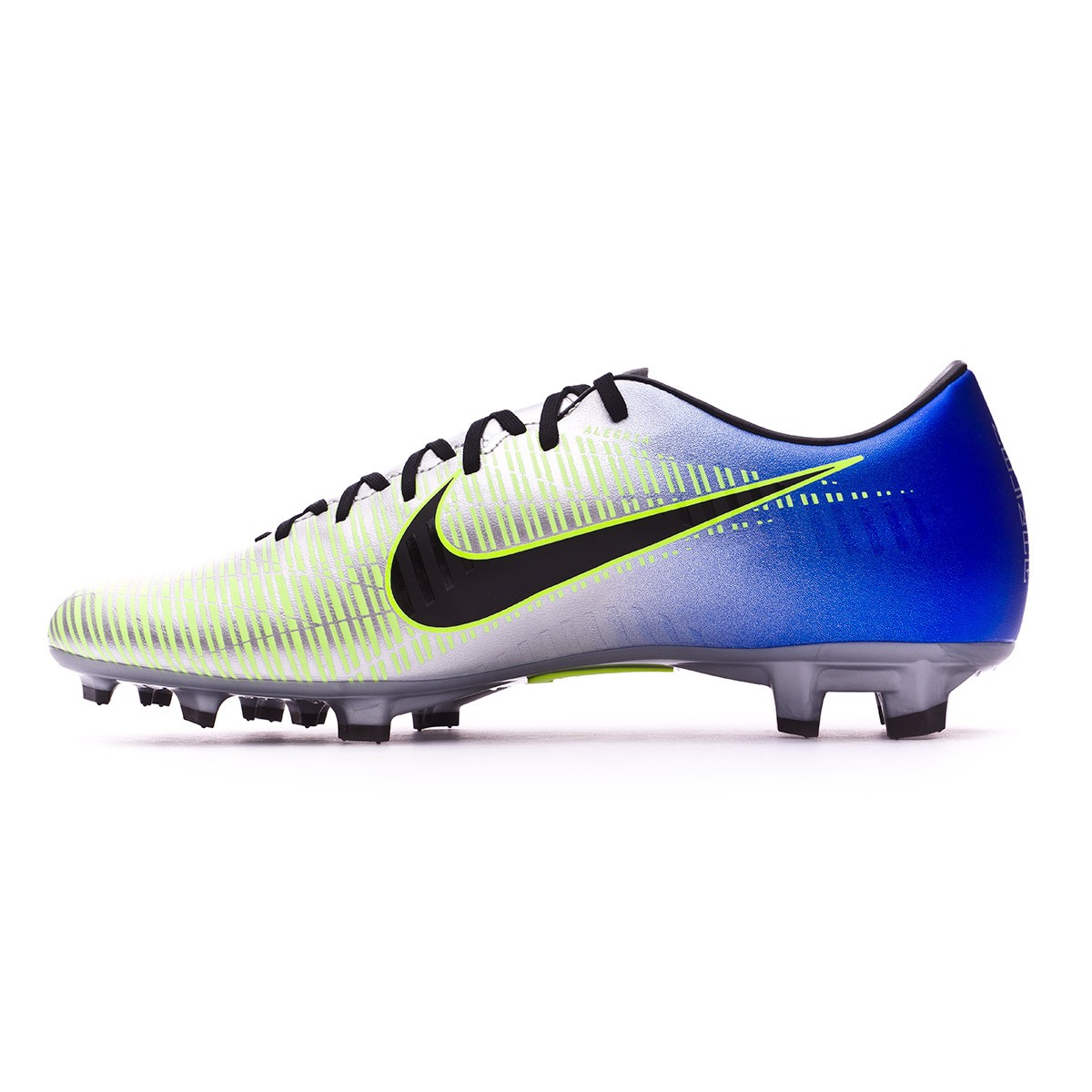 a2e81711018 Football Boots Nike Mercurial Victory VI FG Neymar Racer blue-Black-Chrome- Volt - Tienda de fútbol Fútbol Emotion