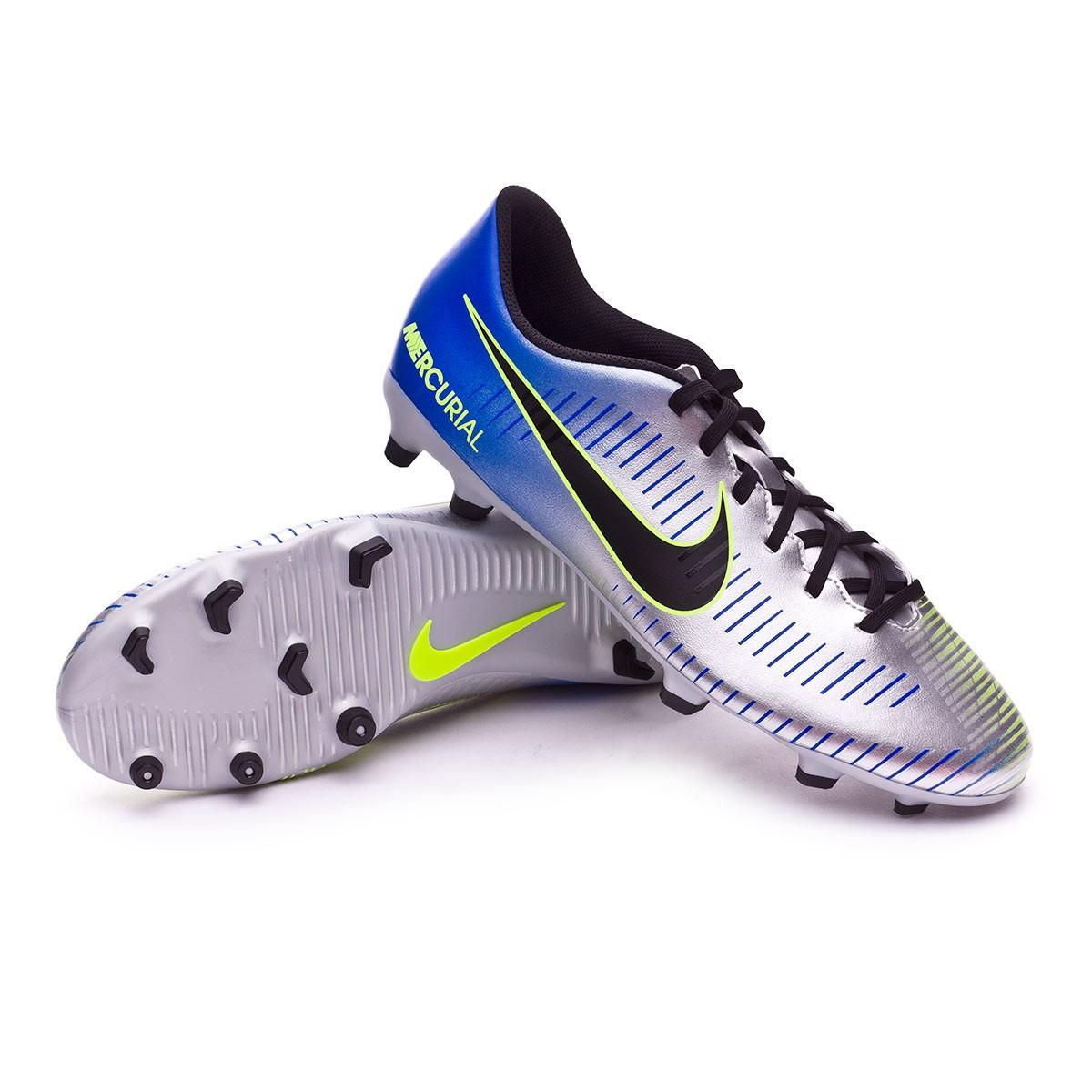 5eba461db3e Football Boots Nike Mercurial Vortex III FG Neymar Racer blue-Black ...